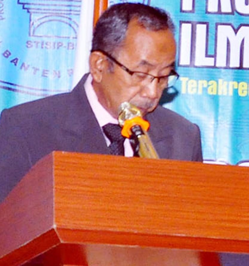 Drs. H. D. Sukendar | Ketua Senat STISIP Banten Raya
