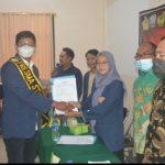 Ketua STISIP Banten Raya Lantik Serentak Organisasi Kemahasiswaan